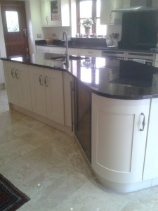 Walnut Kitchen After Painting