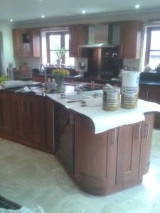 Walnut Kitchen Before