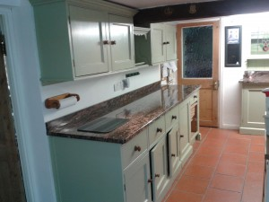 ecton hand painted pine kitchen after