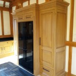 Hand Painted Bespoke Oak Clive Christian Kitchen, Northamptonshire