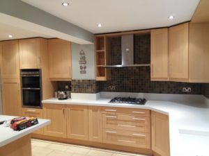 Hand Painted Kitchen Cabinets, Watford, Hertfordshire