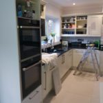 Kitchen Cabinet Painter, Hertfordshire, Harpenden, Benjamin Moore Advance Satin