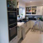 Kitchen Cabinet Painter, Hertfordshire, Harpenden, Benjamin Moore Advance Satin