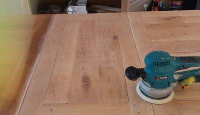 Hand Painted Oak Kitchen Furniture,  Brixworth, Northampton