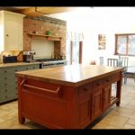Hand painted Chalon Bespoke kitchen Northamptonshire