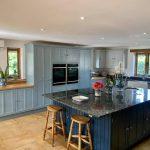 Hand Painted Oak Kitchen,  Towcester,  Northamptonshire