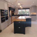 Hand Painted Bespoke Kitchen Northamptonshire.